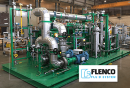 Flenco fluid system