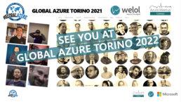 see you at Global Azure Torino 2022